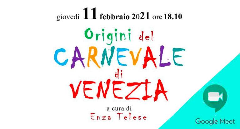 Origini del carnevale di Venezia
